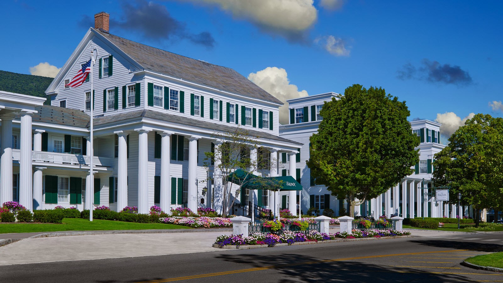 Historic Equinox Hotel in Manchester Village, VT