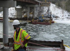 Lamoille River I-89 Bridge Survey