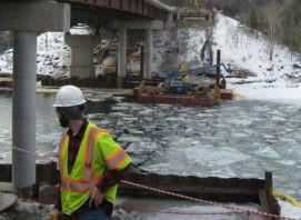 Lamoille River I-89 Bridge Survey