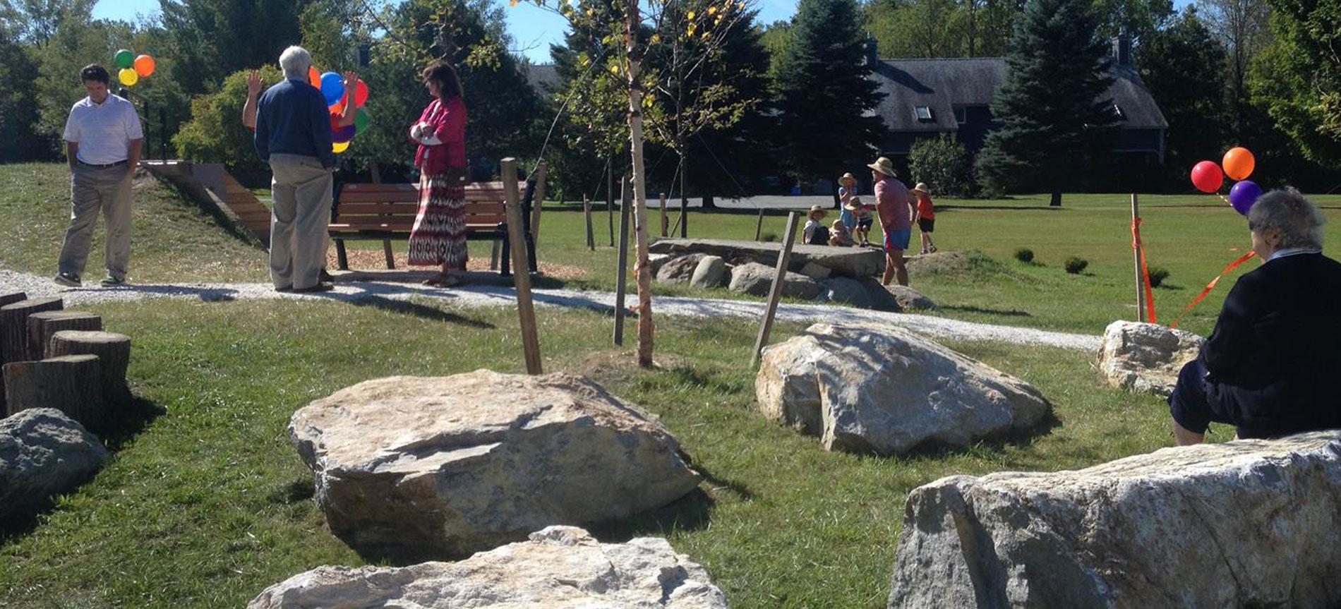 Davis Park Playground, Shelburne, VT