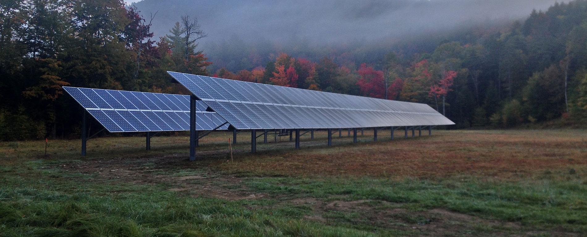 Solar Array Vermont